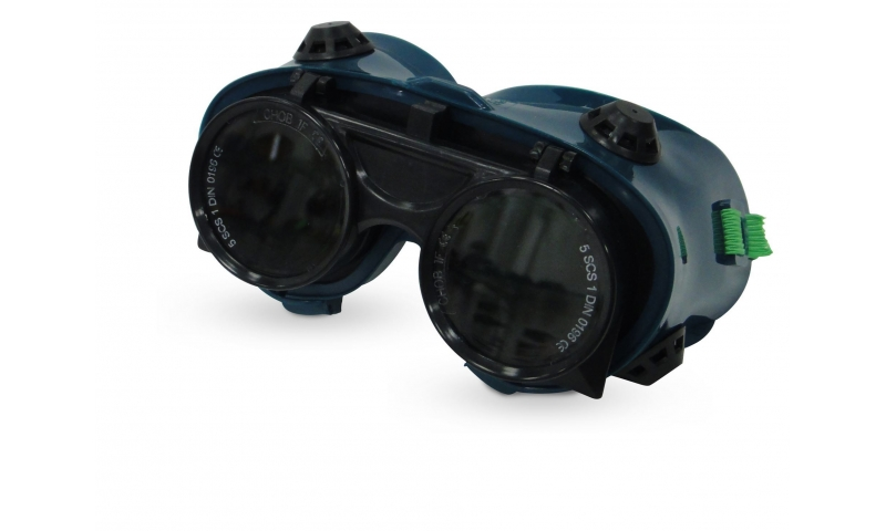 Flip Up Lens Gas Welding Goggles