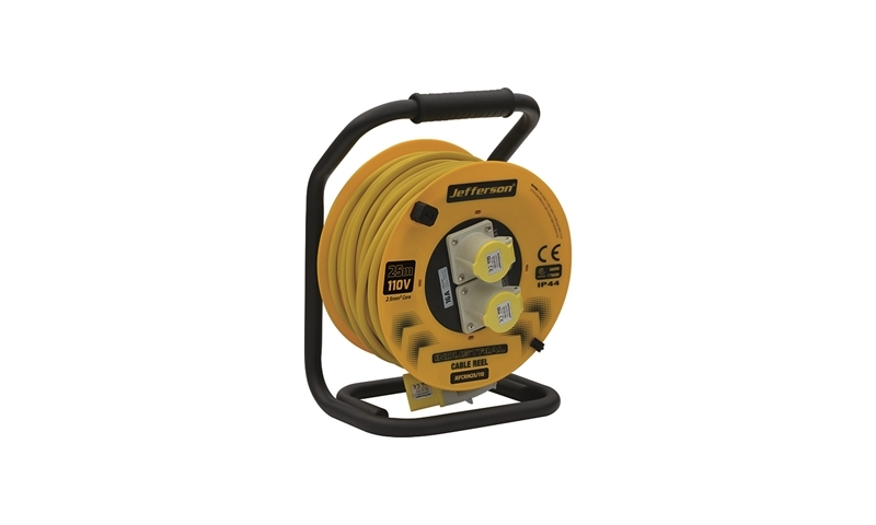 25m Industrial Cable Reel 110V