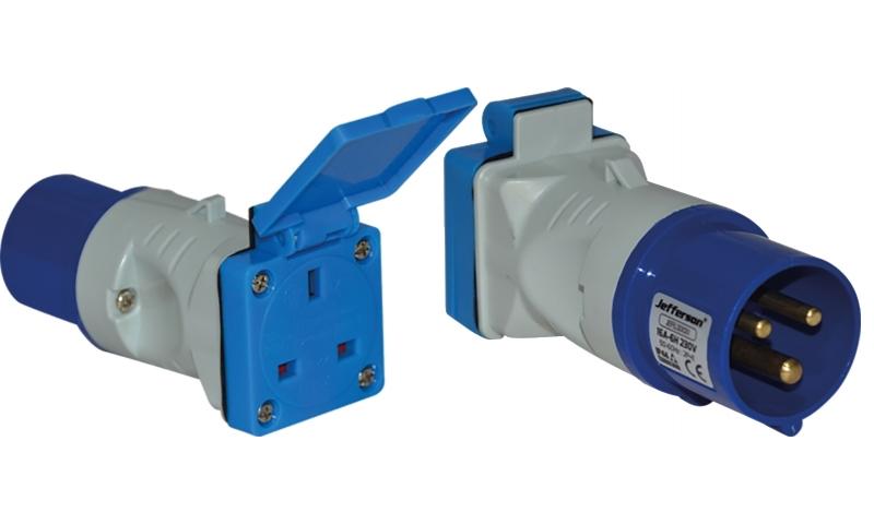 16A To 13A Socket Adaptor