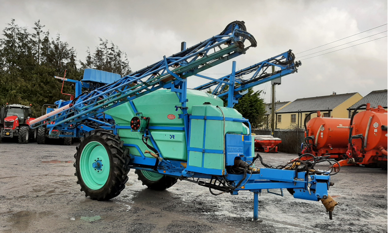 Berthoud Major 32 DP Tronic Trailed Sprayer