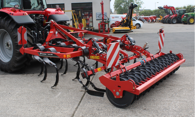 Kverneland 3m Turbo Stubble Cultivator