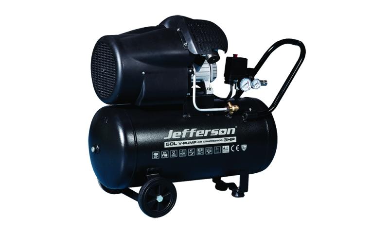 50 Litre 3HP V Pump Compressor (10 Bar)