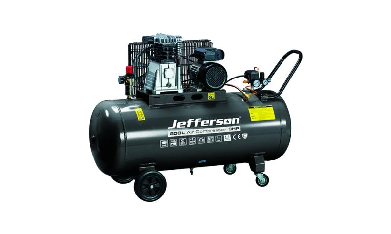 200 Litre 3HP Compressor