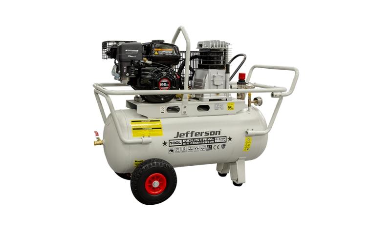 100 Litre 6.5HP Petrol Compressor