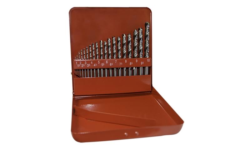 M2 19 Piece Drill Bit Set