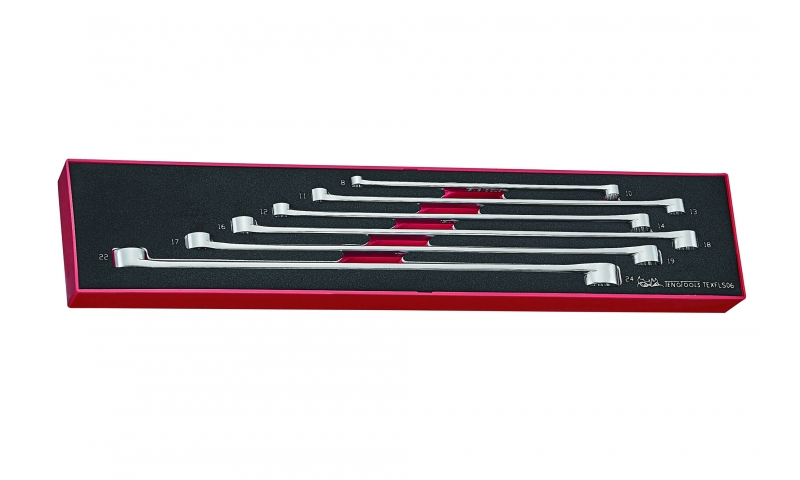 LONG DOUBLE RING SPANNER SET