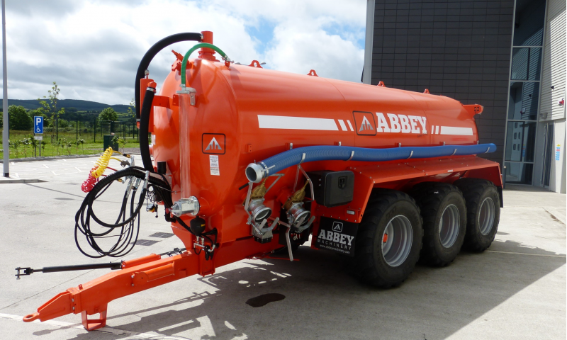 Abbey Tri-Axle Tank Range