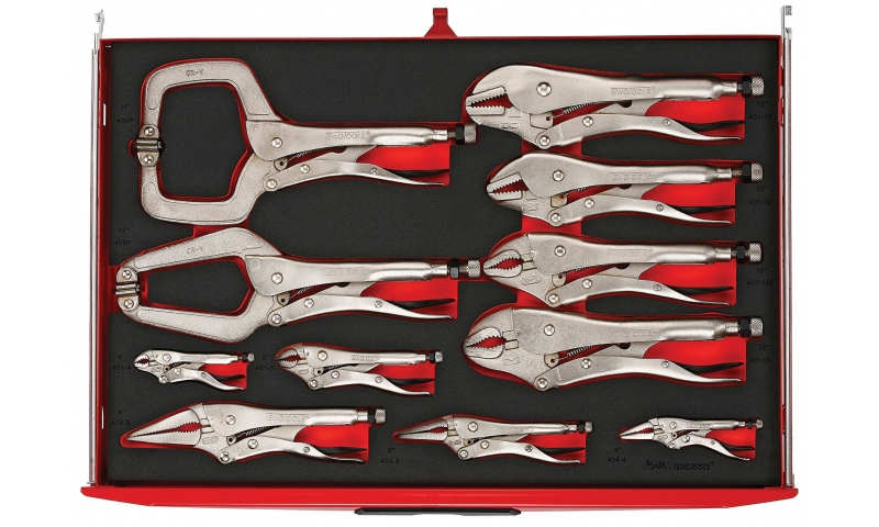 11 PIECE POWER GRIP PLIER SET