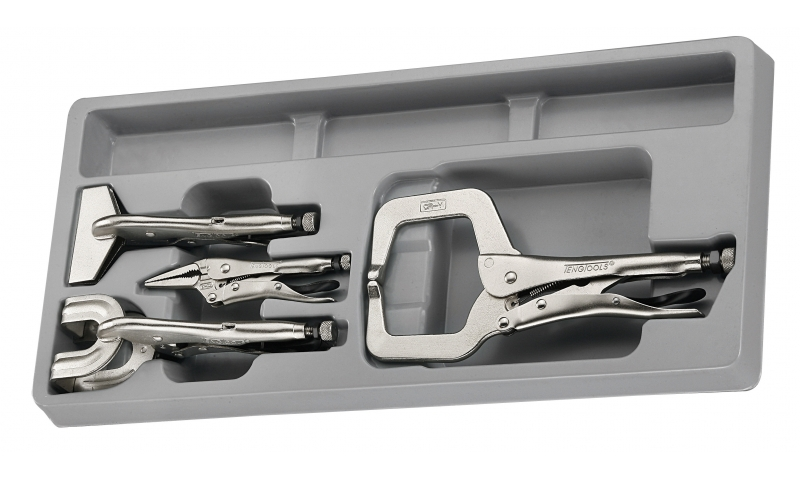 4 PIECE WELDING PLIER SET